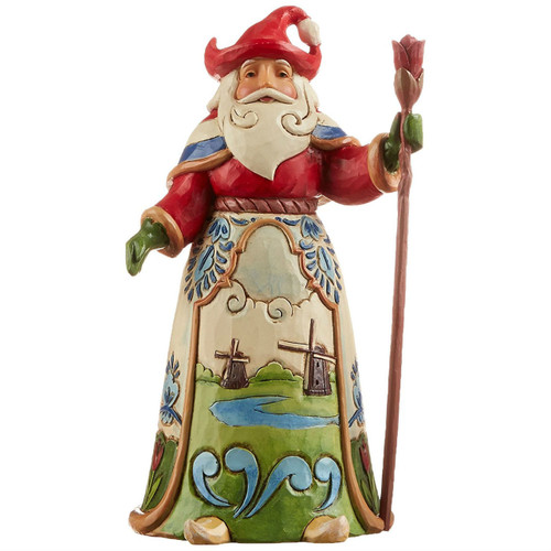 Jim Shore Dutch Santa Figurine
