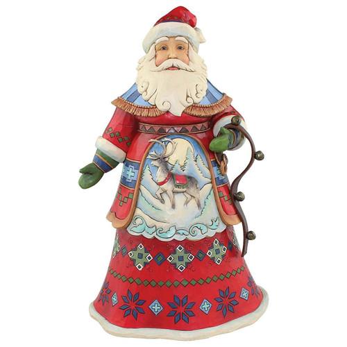 Jim Shore LapLand Santa Figurine
