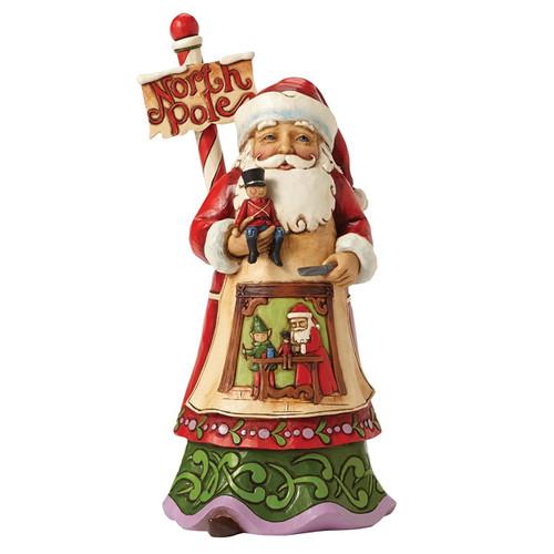 Jim Shore - Santa/North Pole  Figurine