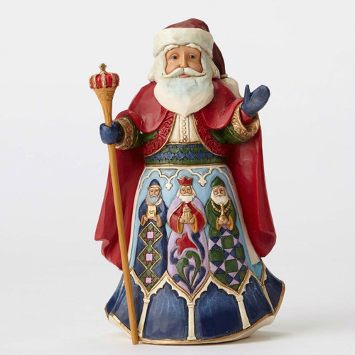 Jim Shore Spanish Santa Figurine