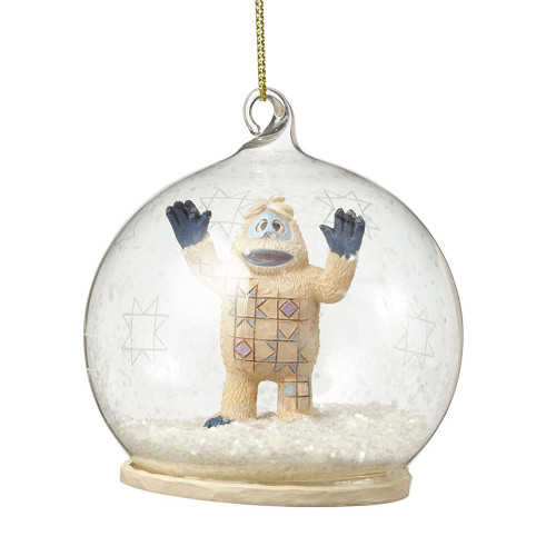 Jim Shore Bumble Dome Ornament Ho 3.3 in Hanging