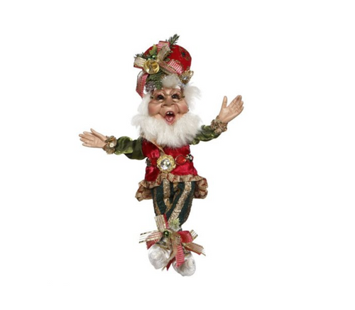 Mark Roberts Elves Merry Christmas Elf  Small 11 inch