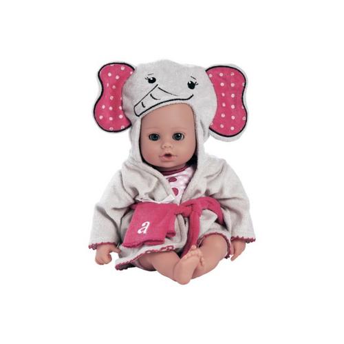 """Bath time Baby - Elephant 13"""" - Play Doll by Adora Dolls"""