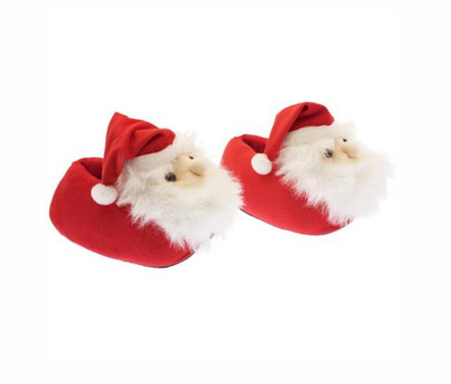 Cozy Santa Claus Slippers