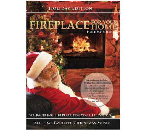 Fireplace For Your Home Dvd: Holiday Yule Log Edition - Christmas