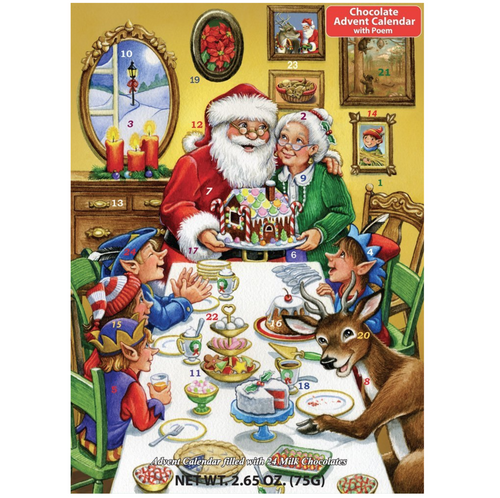 Christmas Feast Advent Calendar - Chocolate