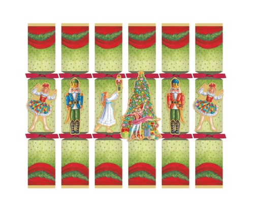 CHRISTMAS BALLET CELEBRATION CRACKERS WITH LUXURY EMBELLISHMENTS