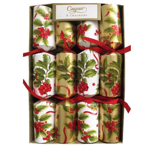 Caspari Set of 8 Christmas Trimmings Crackers
