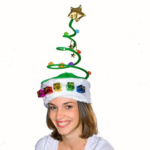 Silly Spring Christmas Tree Hat