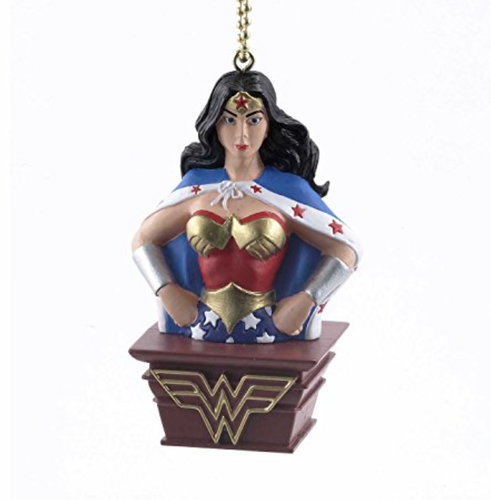 Kurt Adler Wonder Woman Clip-On Ornament