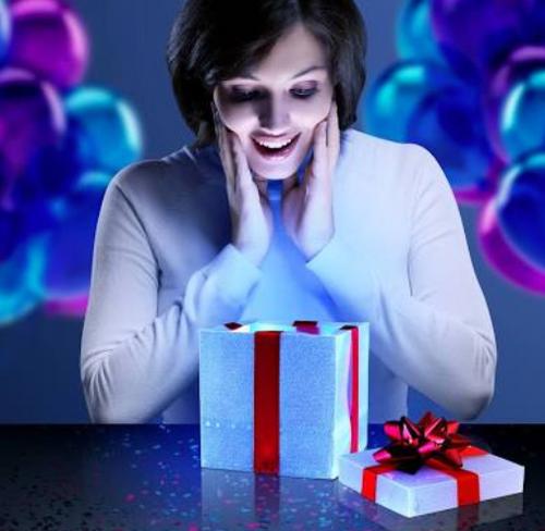 """4"""" LED Gift Box"""