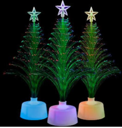 "11.5"" LED Green Christmas Tree Centerpiece"