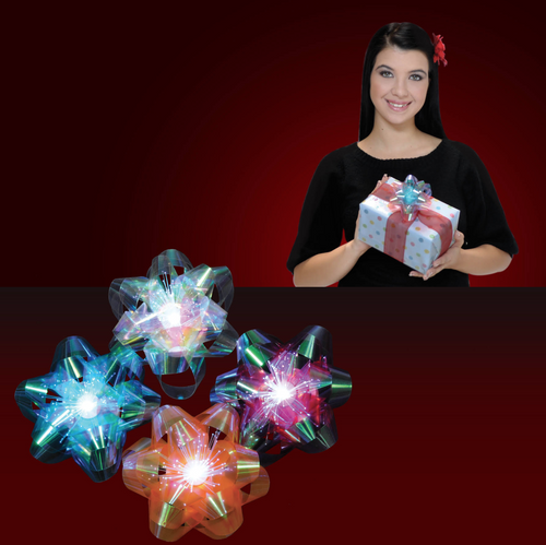 Light Up Gift Bows