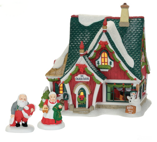 Department 56 - North Pole Home For The Holidays