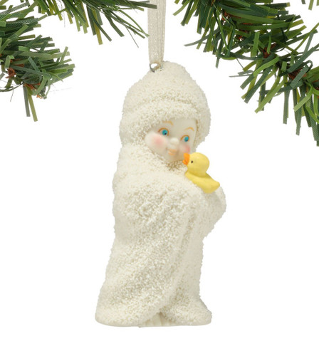 Snowbabies - Squeaky Clean Ornament