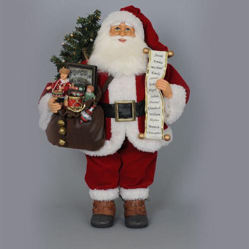 Karen Didion - Lit  Vintage Gift Bag Santas