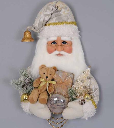Karen Didion - Cream Vintage Santa Head