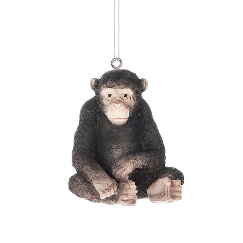 Monkey Sitting Ornament