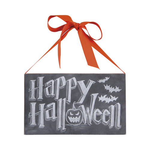 Happy Halloween Sign 6 x 10 inch