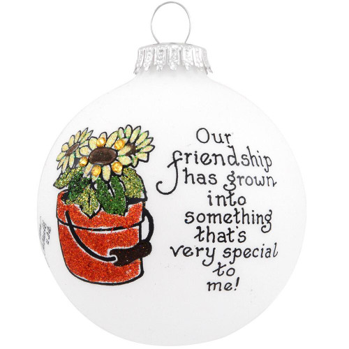Heart Gifts by Teresa - USA Made Friendship Flower Ornament