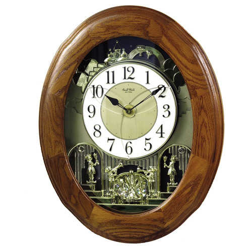 Musical Animated Joyful Nostalgia  RHYTHM CLOCK **FREE SHIPPING**
