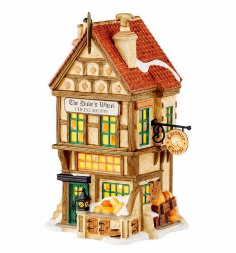Department 56 Village - The Duke's Wheel Cheese Shoppe