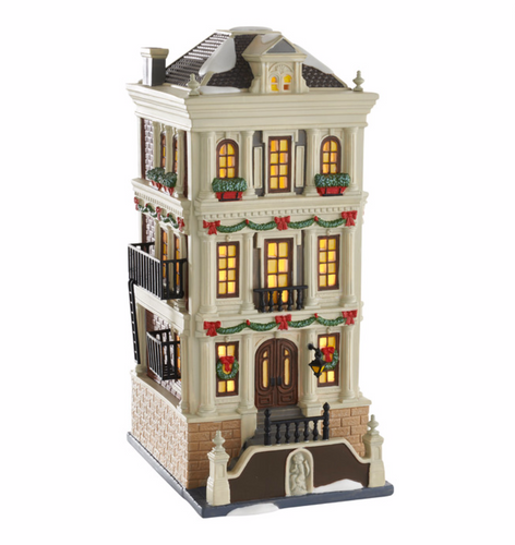 Department 56 - *2016 Holiday Brownstone