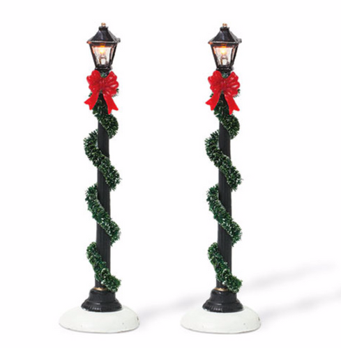Department 56 - Small Town Street Lamps