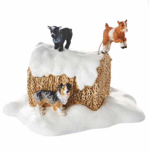 Department 56 Village Accessories  - *2016 Mistletoe Farm Goats