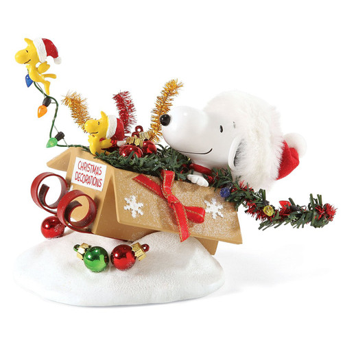 Department 56 - *2016 Possible Dreams  - Snoopy - One-Bird Open Sleigh