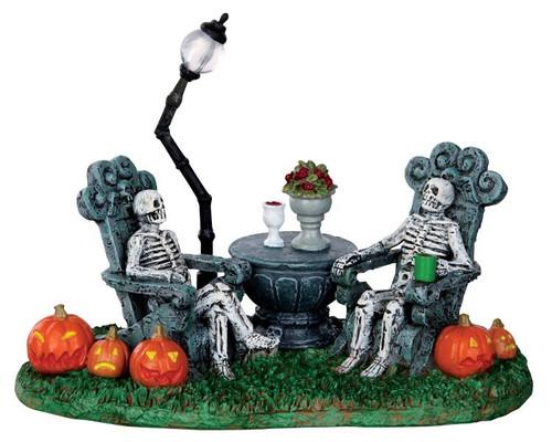 LEMAX Halloween-Mausoleum Vacancy