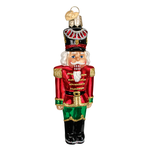 Old World Glass - Nutcracker General Ornament