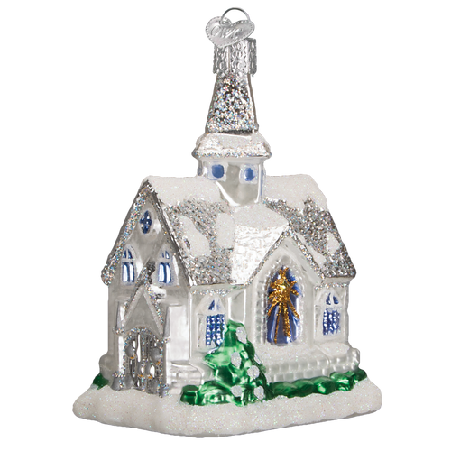 Old World Glass - Sparkling Cathedral Ornament