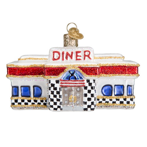 Old World Glass - Diner Ornament