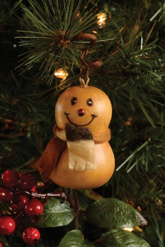 Meadowbrooke Gourds- Flake Ornament