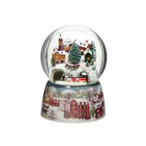 Train Musical Snow Globe