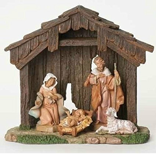 Fontanini 5-Inch Figure Nativity Set of 4