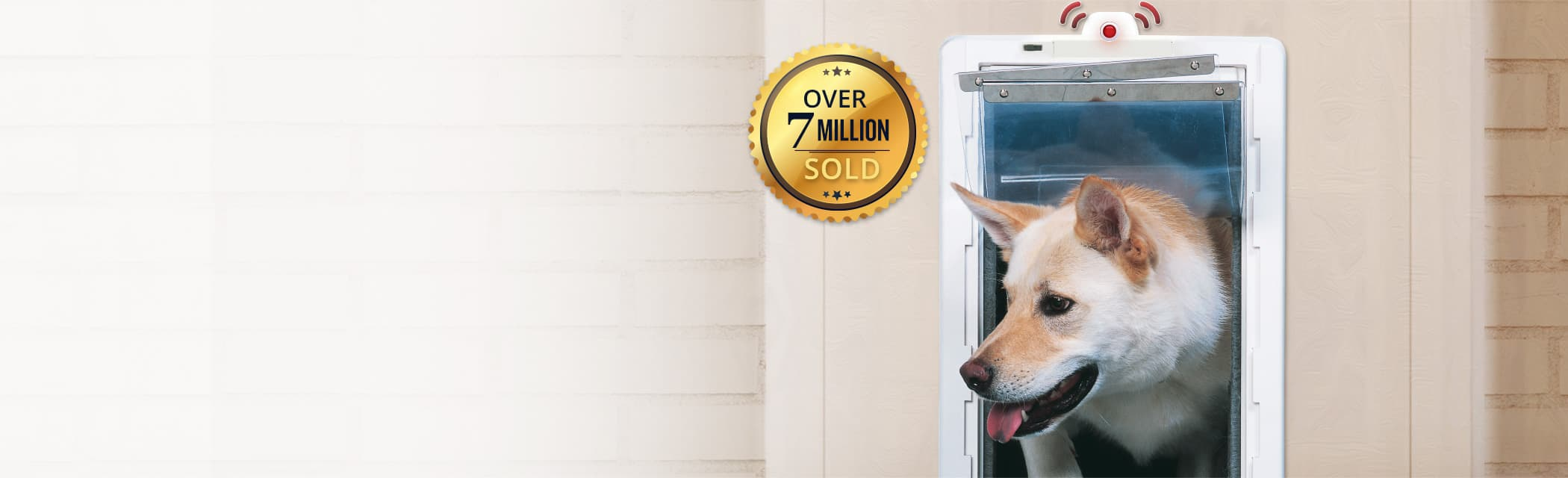 Ideal pet products dog doors cat doors pet accessories for Ideal dog door