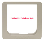 Cat Flap-Replacement Outside Frame