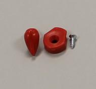 For Cat Flap/Small Pet Flap/Solid LEXAN» Plastic Flap/Plastic Frame/Chrome Steel/4-Way Lock  - 3 Pcs.