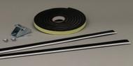 For Aluminum Pet Patio Doors/Self Adhesive Foam/Chrome Steel/Hardware Pack