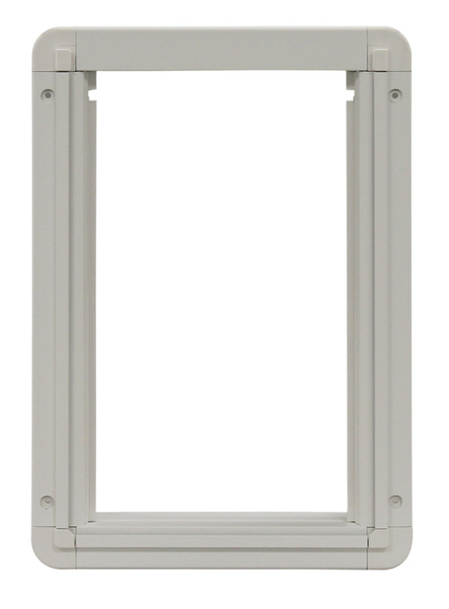 Medium Size Aluminum Inside Frame With Slots For Slide. Designed For Door  With Flexible 3