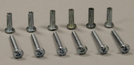 Aluminum Pet Door Frame Binder Posts & Screws - Set of 6 Binder Posts & Screws