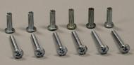 Aluminum Pet Door Frame Binder Posts & Screws - Set of 6 Binder Posts & Screws