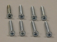 Chubby Kat/Hefty Kat Door Frame Screws - Set of 8 Screws