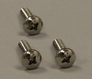 Plastic Pet Door Flap Bar Screws (Old Style) for Large Size - Set of 3 Screws