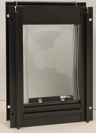 Bronze Deluxe Aluminum Pet Door