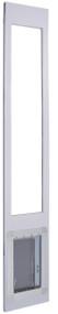 "900 Series™ 80"" Standard ""Double Flap"" Dual Pane Glass Pet Patio Door-Mill — FREE SHIPPING!"