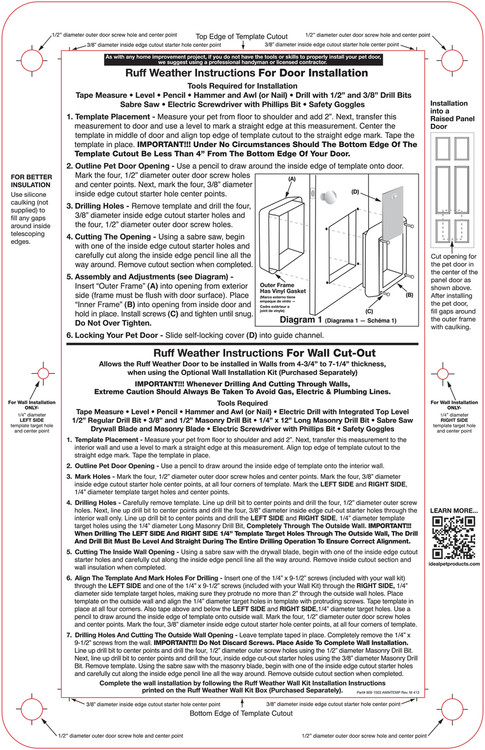 ... Ruff Weather Door. Image 1