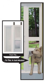 Fast fit pet patio doors ideal pet products vinyl modular pet patio door ideal pet products planetlyrics Images